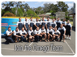 Join the Omega Team